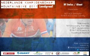 Affiche NK Mountainbike 2017 Landgraaf